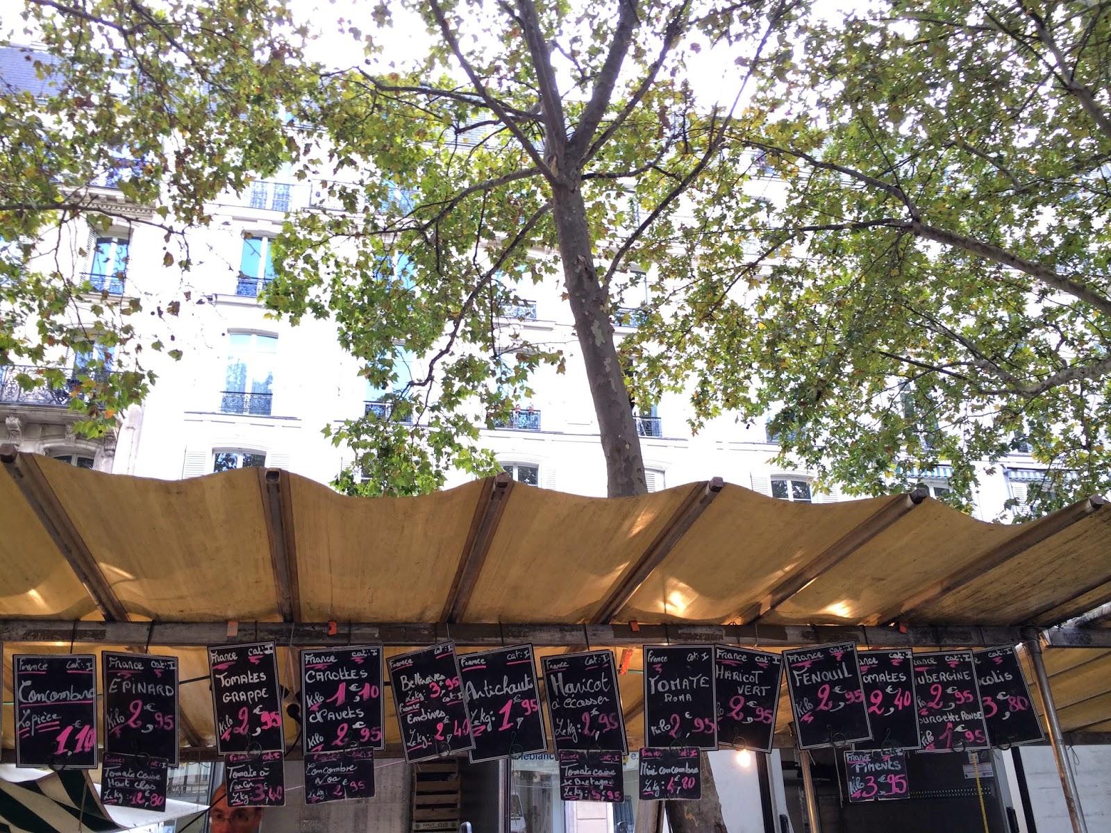 Paris Bastil Organik Pazar