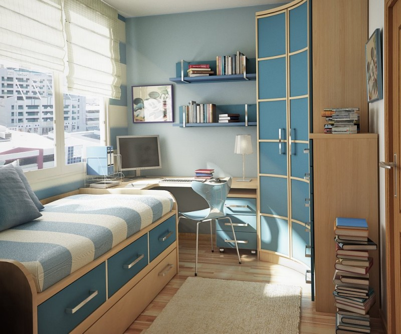 well arrangement small bedroom design in a small modern apartment interior definitely will need a creative touch from its designer or its owner to make it