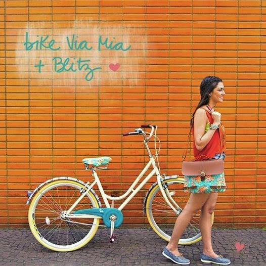 Bicicletas e acessórios Via Mia + Blitz para o verão