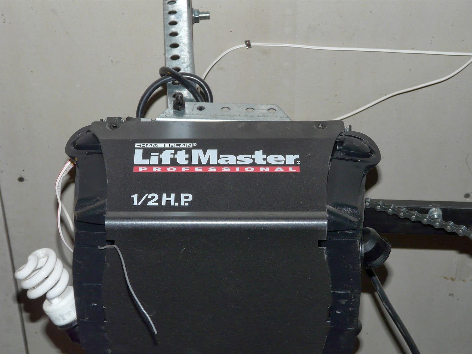 The Secret Is Gratitude Changing A Garage Door Gear Liftmaster