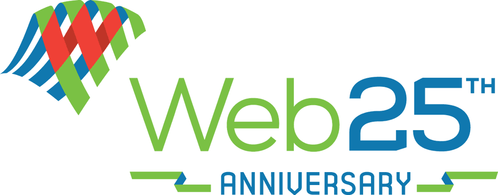 Logo for The Web at 25