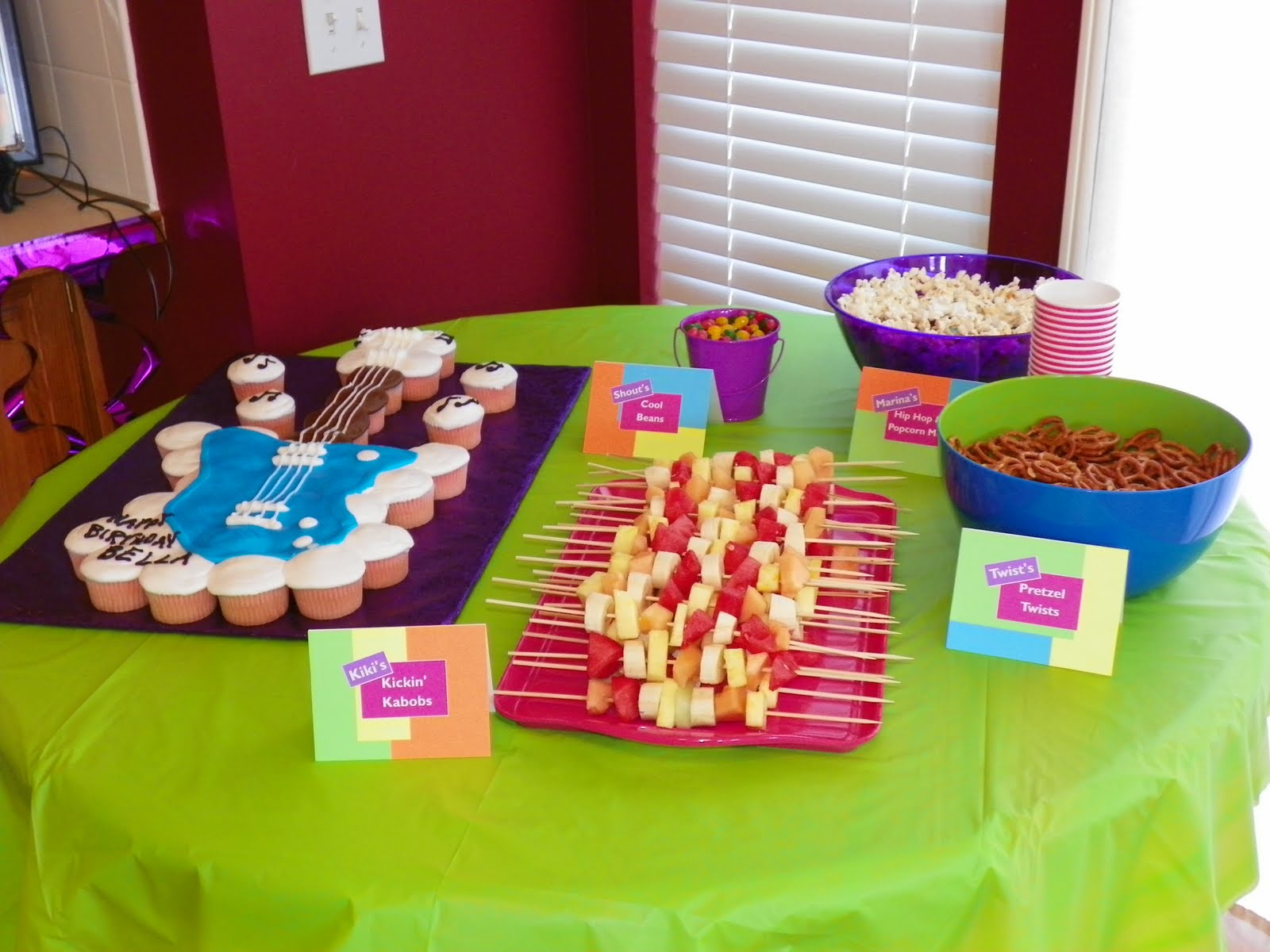 The Food Table Was Fun And Festive I Stole Some Of My Ideas From Other Blogging Mommies Others Did All On Own Since You Are Reading This Blog