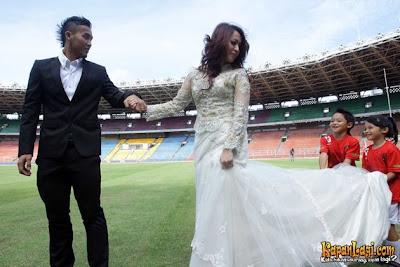 Pre-wedding Okie Agustina dan Gunawan Dwi Cahyo