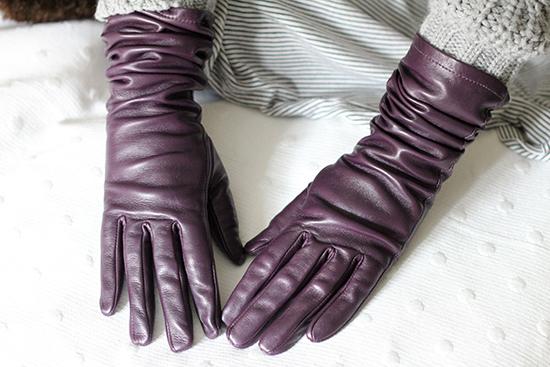 colección de guantes