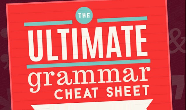 The Ultimate English Grammar Cheat Sheet For Students