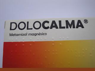 Dolocalma® cápsulas (metamizol magnésico)