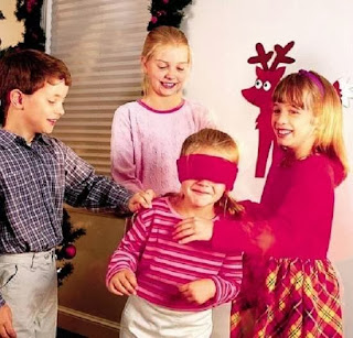 Christmas 2015 Party Games Ideas for Kids Children School