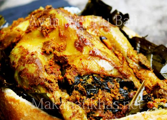 Ayam Betutu Makanan Khas Bali Makanan Khas Indonesia