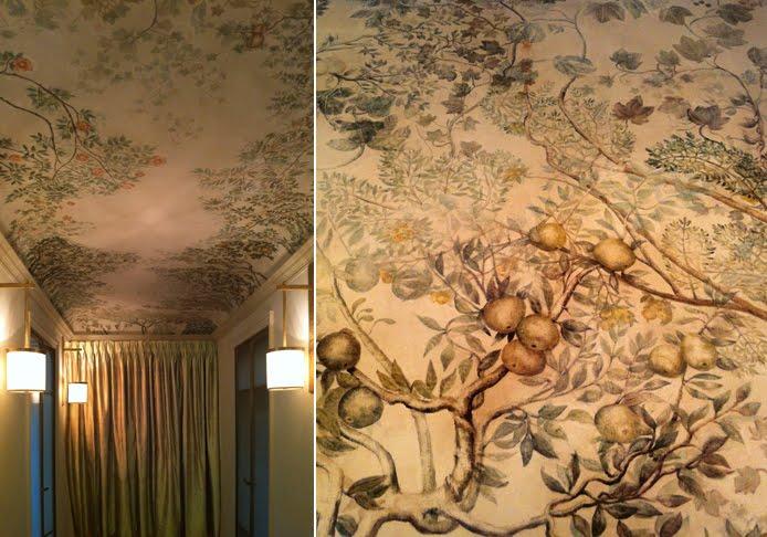 D cor peint boiseries et dorures boiseries dorure et d cors au louvre - Decoration trompe l oeil ...