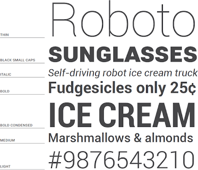 Google's Font Roboto Is Available For Free