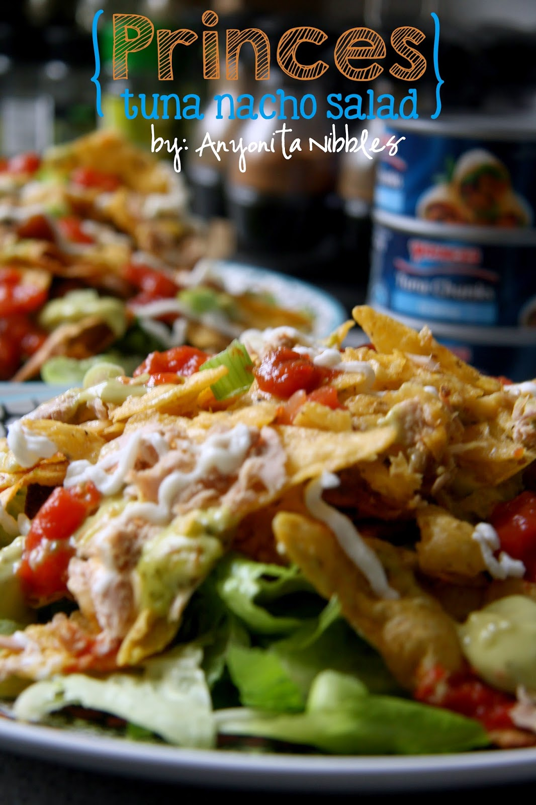 Princes Gluten Free Tuna Nacho Salad from Anyonita-nibbles.co.uk