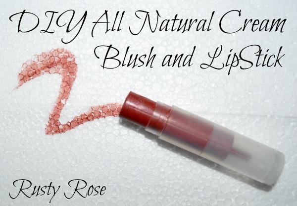 DIY Natural Cream Blush