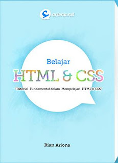 Download eBook Tutorial Fundamental HTML dan CSS