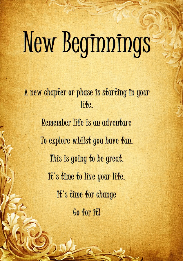 New Beginnings Quotes About Life 6 Quote