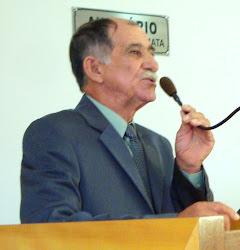 Lembranças de sua ultima sessão na Camara Municipal de Jaborandi onde estava sendo Vereador.
