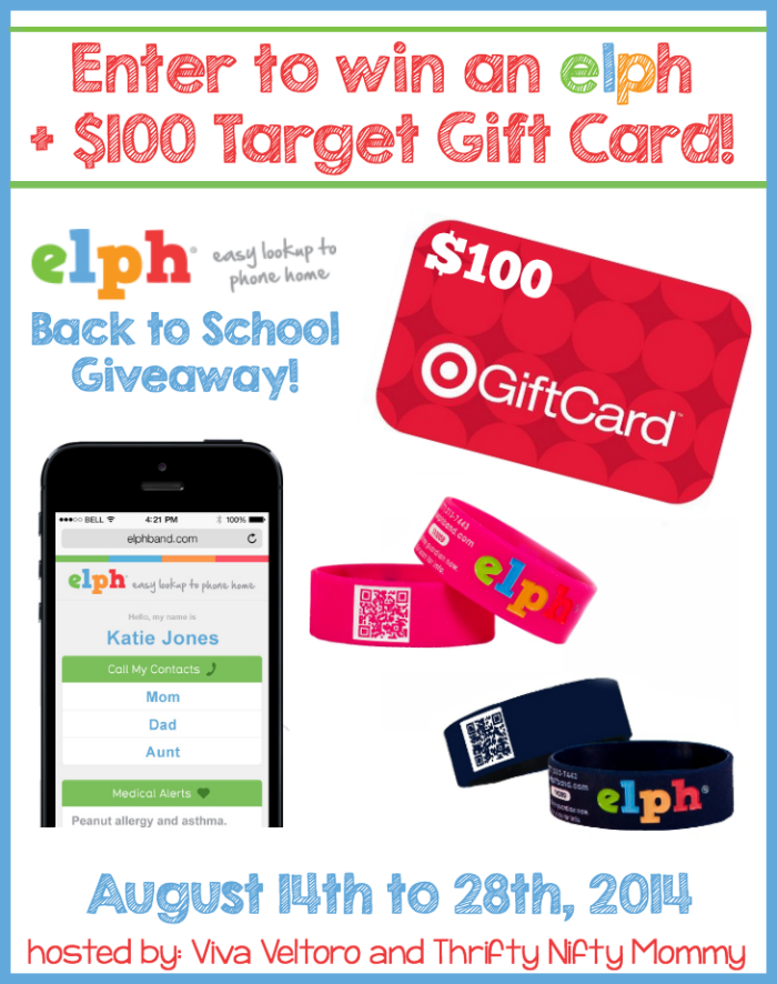 ELPH + Target Gift Card Giveaway