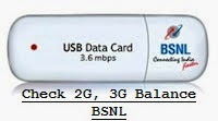 Check 2G, 3G Data Pack in BSNL Net Setter