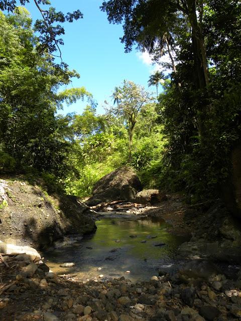 Errand Waterfall St. Lucia