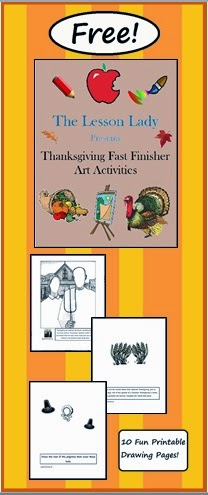 http://www.teacherspayteachers.com/Product/Thanksgiving-Fast-Early-Finisher-Art-Activity-Pages-FREE-374028