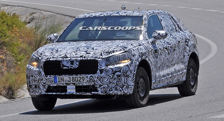 Spied: New Q1 Is Audi's Smallest Ever SUV
