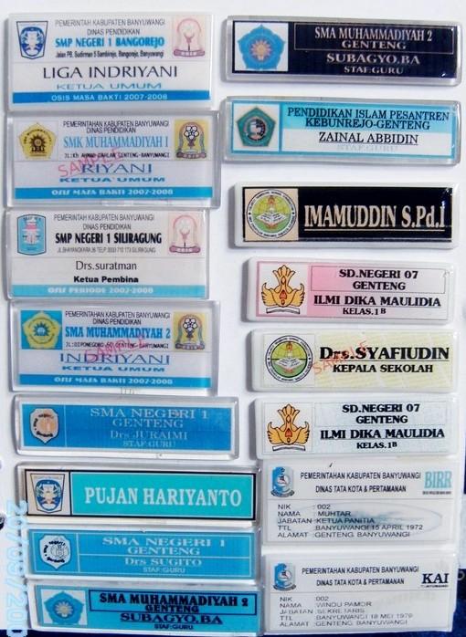 Badge sekolah