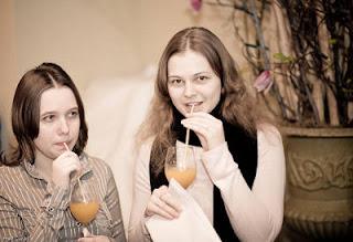 Echecs en Géorgie : les soeurs Muzychuk © Fred Lucas