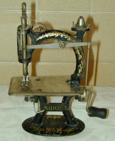 Midget sewing machine value