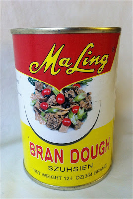 A can of Ma Ling brand bran dough