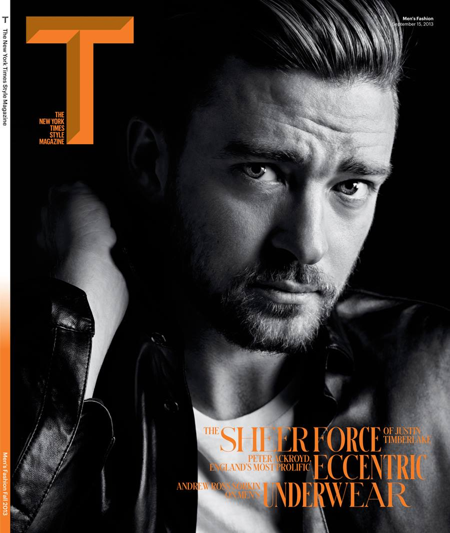 Magazine Love: Justin Timberlake Graces the Cover of the New York Times Style Magazine