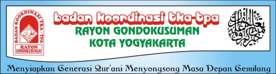 Badko TKA-TPA Gondokusuman | Yogyakarta