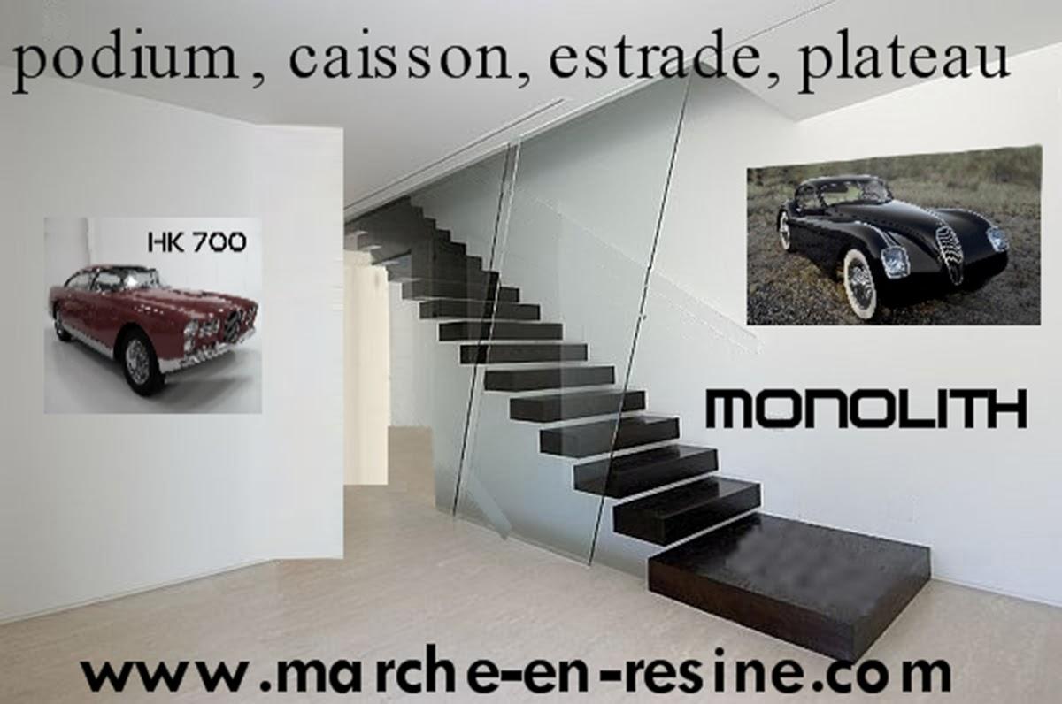 escalier suspendu fabrication de marche caisson en b ton cir escalier metallique design. Black Bedroom Furniture Sets. Home Design Ideas