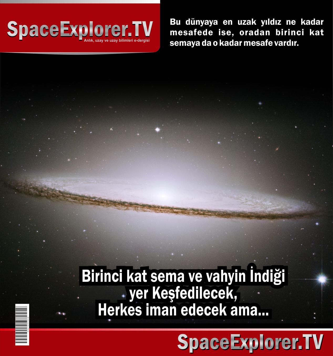 Süleyman Hilmi Tunahan, Birinci kat sema, Sema, Sema katları, Yedi kat sema, Videolar, Dünyanın en büyük teleskobu, Teleskoplar,