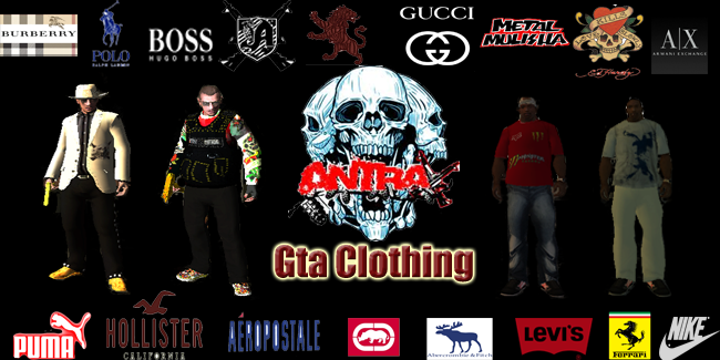 GTA CLOTHING-SHOP
