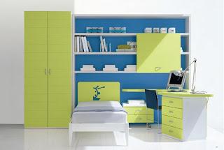 La creativit di anna per una stanza da favola leo stickers - Camerette verde mela ...