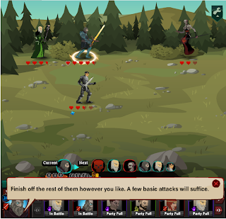 Dragon Age Legends gameplay in Google+