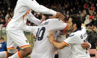 Cagliari Lecce 1-2 highlights