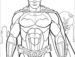 Cartoon Deadpool Coloring Pages To Print