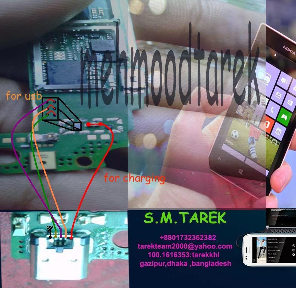 Nokia lumia not charging problem