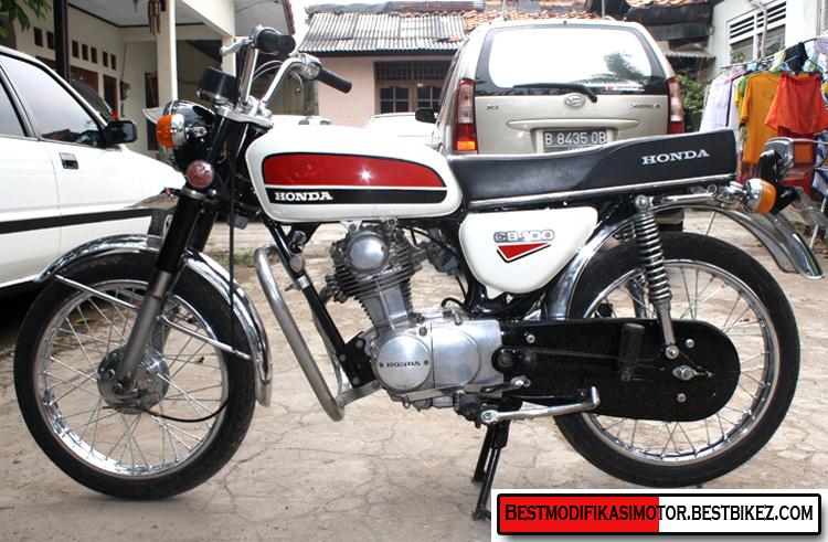 Honda CB 100 1975 - Gambar Modifikasi Motor Terbaru