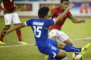 hasil ahir final sepak bola sea games indonesia vs thailand