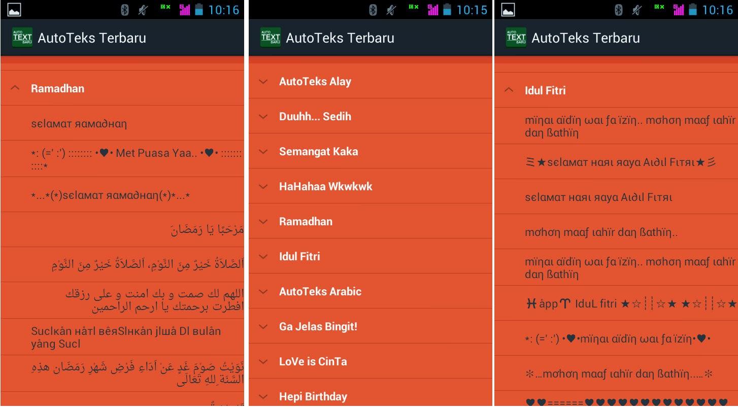 Auto Text Ucapan Lebaran Untuk Android 2