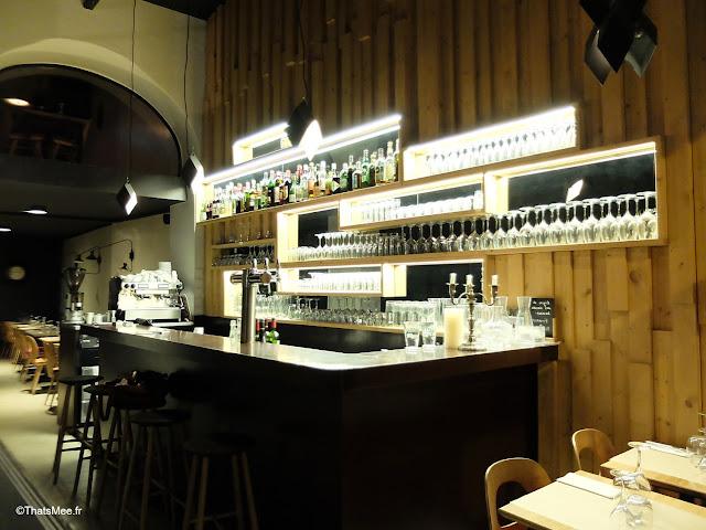 resto pollop vin cuisine du marché montorgueil Paris rue aboukir, bar via miroir reflet