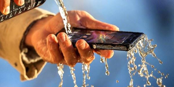 افضل هواتف تستطيع العمل تحت الماء