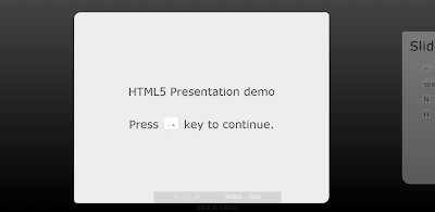 Presentation With HTML5