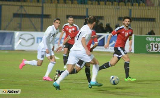 منتخب مصر يظهر هزيلاً أمام المنتخب الأردني