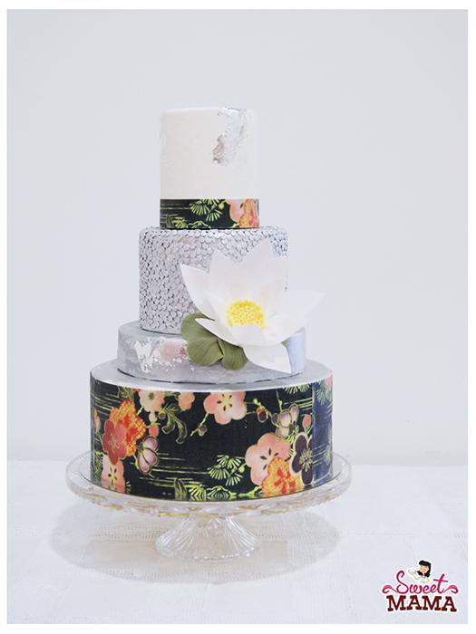 pastel de boda personalizada en Barcelona wedding customized cake sweet mama