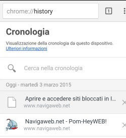 cronologia android