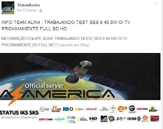 TEAM AZAMERICA TRABALHANDO PARA ABRIR SES6 OITV