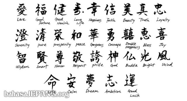 Download 97 Foto Tato Tulisan Kanji Dan Artinya Paling Keren