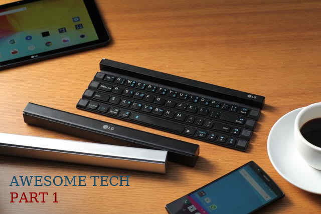 Excellent Technology Product: LG Rolly Wireless Keyboard